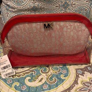Michael Kors large travel pouch